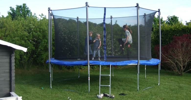 trampoline that is not covered by homeowners insurance