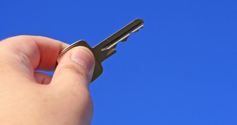new homeowner keys